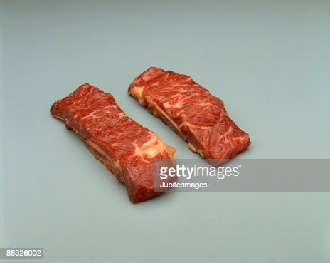 Raw ribs : Stock Photo