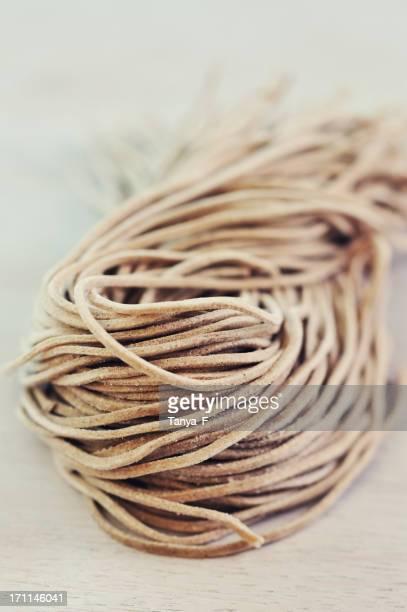 Raw Soba Noodles
