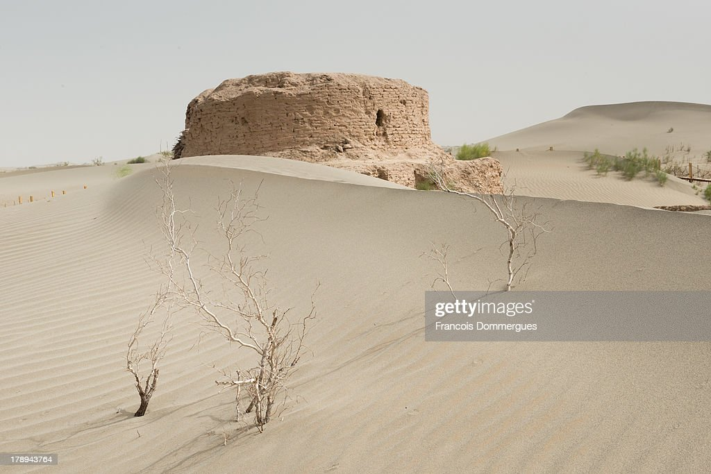 CONTENT] Rawak is a Buddhist stupa located on the southern rim of the Taklamakan Desert in China, along the famous Silk Road. It dates from the first millennium Kingdom of Khotan. Today, it is surrounded by sand and seldom visited due to its remoteness.