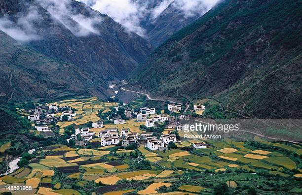 Rawo village and fields.