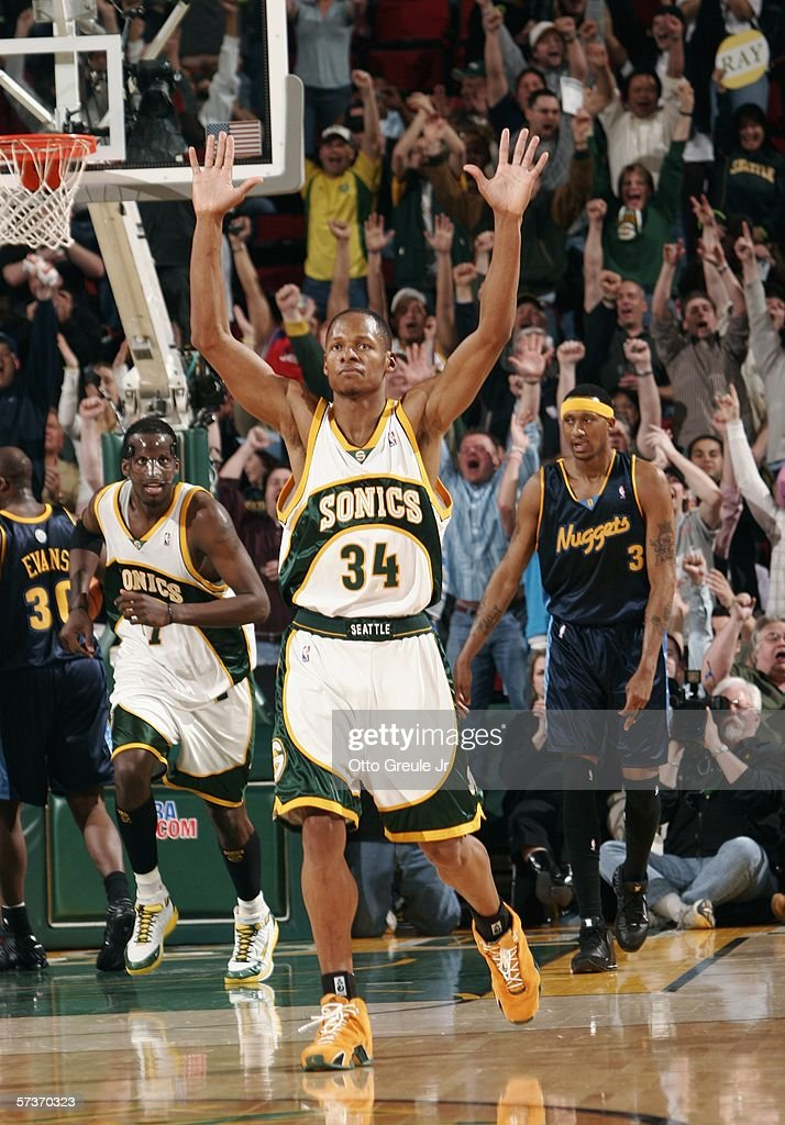 Denver Nuggets v Seattle SuperSonics