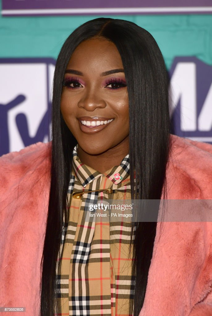 Ray BLK attending the MTV Europe Music Awards 2017 held at The SSE Arena, London. PRESS ASSOCIATION Photo. Picture date: Sunday November 12, 2017. Photo credit should read: Ian West/PA Wire