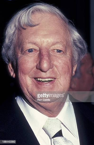 Ray Bolger attends ABC TV Affiliates Party on May 16 1983 at the Century Plaza Hotel in Century City California