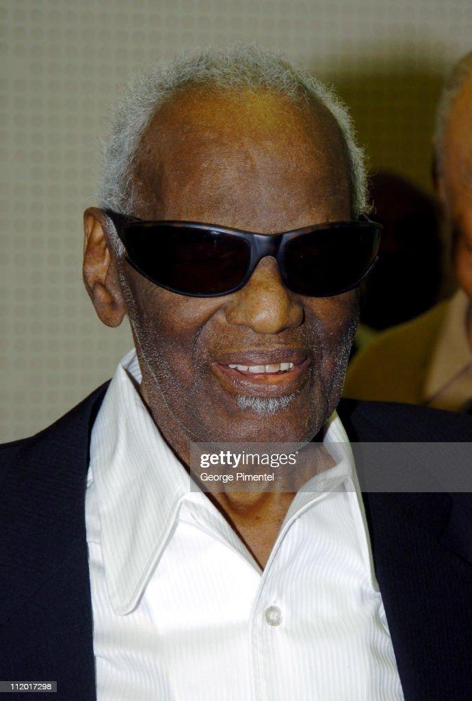 Music Legend Ray Charles Gets Grammy Presidents's Merit Award