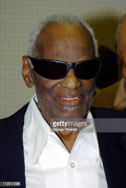 Ray Charles during Music Legend Ray Charles Gets Grammy Presidents's Merit Award at Ray Charles Enterprises in Los Angeles CA United States