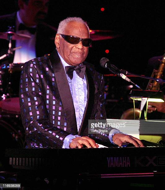Ray Charles during Ray Charles in Concert at Resorts Atlantic City in Atlantic City New Jersey United States
