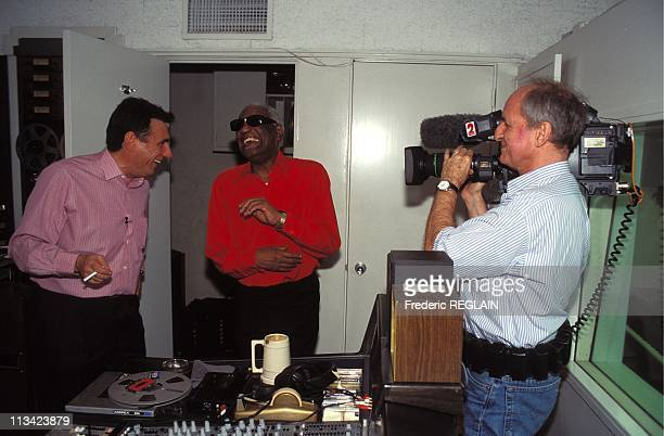 Ray Charles On The TV Show Envoye Special In April 1996