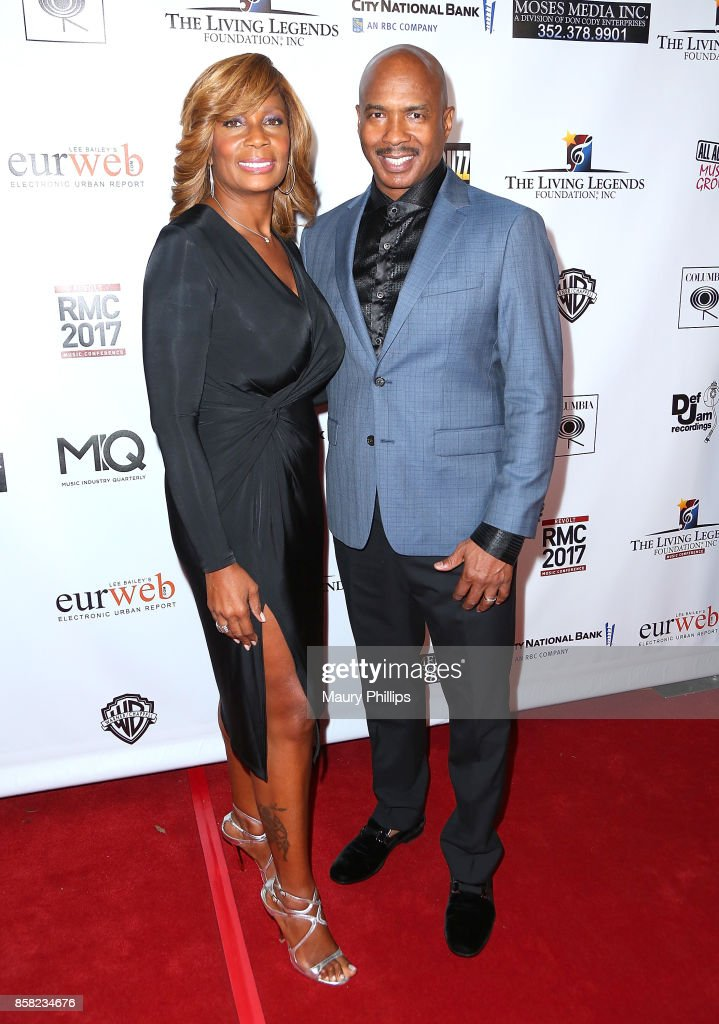 Ray Chew (R) and wife Vivian Chew arrive at The Living Legends Foundation's 21st annual awards gala - at Taglyan Cultural Complex on October 5, 2017 in Hollywood, California.