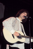 Ray Davies of the Kinks performing at Hofstra University in Long Island NY on May 4 1977