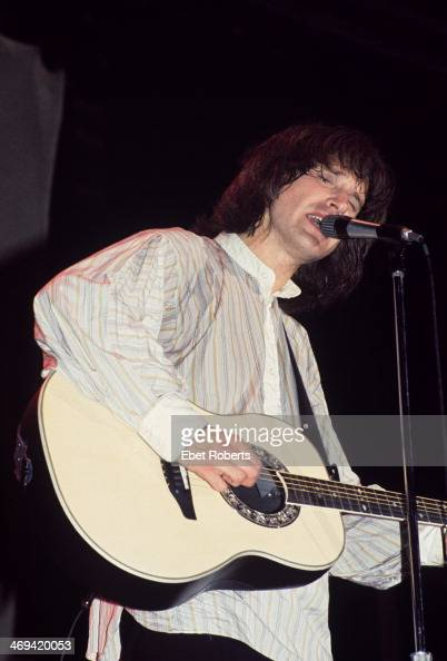 Ray Davies of the Kinks performing at Hofstra University in Long Island NY on May 4 1977