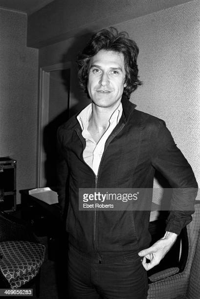 Ray Davies of The Kinks photographed at the Warwick Hotel in New York City on June 9 1978