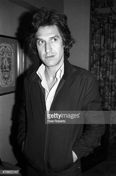 Ray Davies of The Kinks photographed at the Warwick Hotel in New York City on June 91978