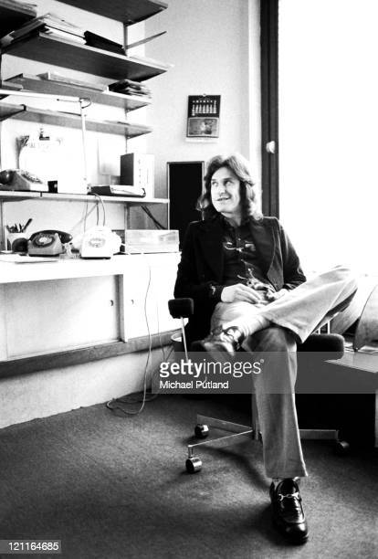 Ray Davies of The Kinks portrait London 6th May 1974