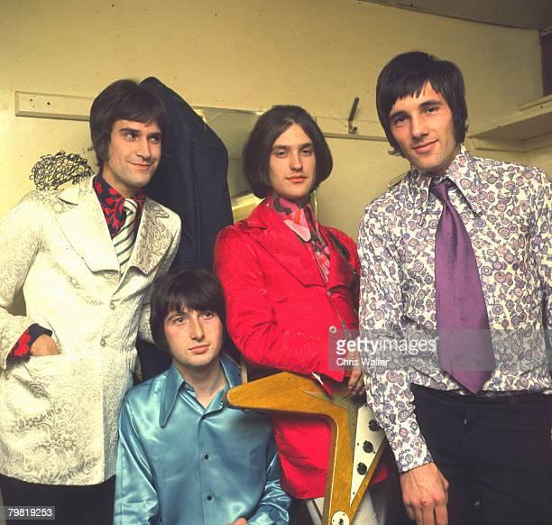 Ray Davies Pete Quaife Dave Davies and Mick Avory of The Kinks 1965