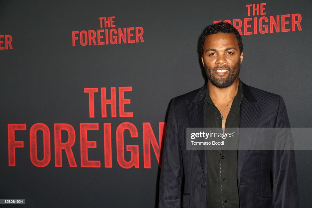 Ray Fearon attends the Premiere Of STX Entertainment's 'The Foreigner' at ArcLight Hollywood on October 5, 2017 in Hollywood, California.