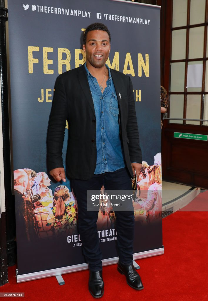 Ray Fearon attends the press night performance of 'The Ferryman' at the Gielgud Theatre on June 29, 2017 in London, England.