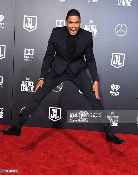Ray Fisher arrives at the Premiere Of Warner Bros Pictures' 'Justice League' at Dolby Theatre on November 13 2017 in Hollywood California