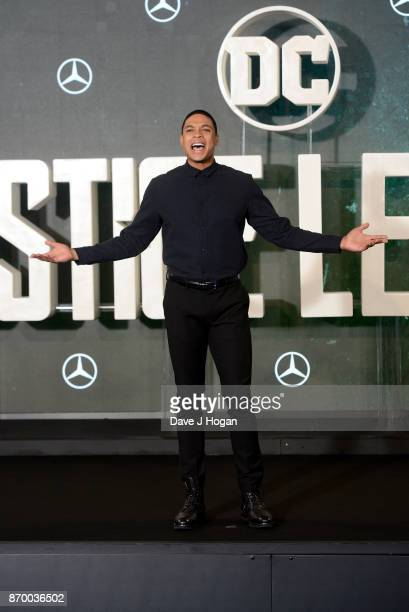 Ray Fisher attends the 'Justice League' photocall at The College on November 4 2017 in London England