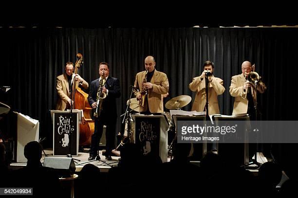 Ray Gelato Oli Hayhurst Andy Rogers and Olly Wilby Watermill Jazz Club Dorking Surrey Jan 2016 Artist Brian O'Connor