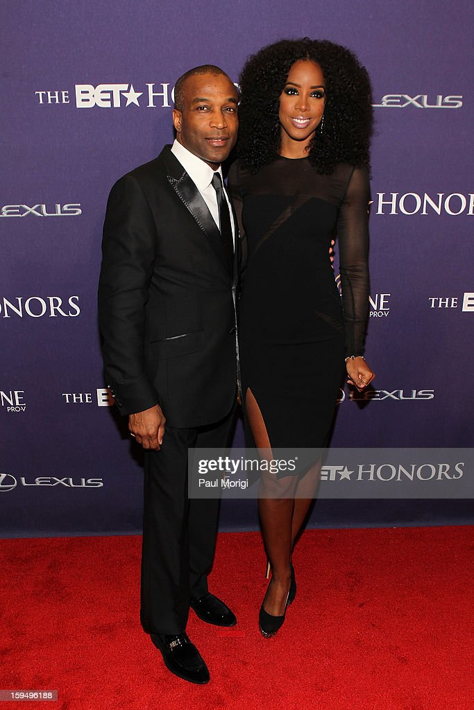 Ray Goulbourne and Kelly Rowland attend BET Honors 2013: Red Carpet Presented By Pantene at Warner Theatre on January 12, 2013 in Washington, DC.
