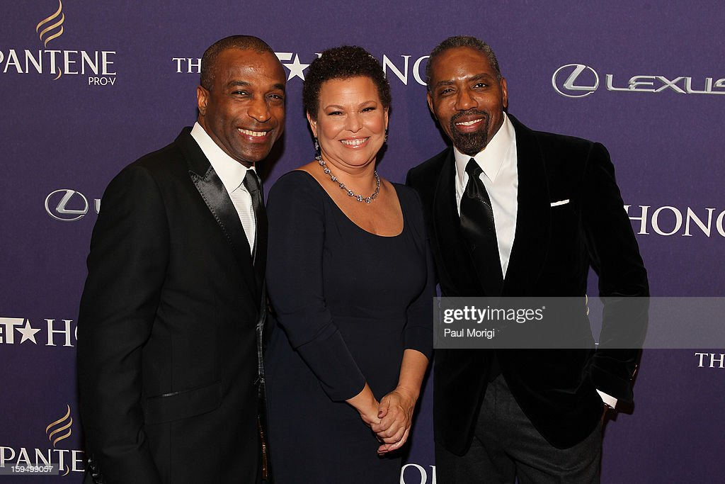 Ray Goulbourne ,Debra Lee, and Louis Carr attend BET Honors 2013: Red Carpet Presented By Pantene at Warner Theatre on January 12, 2013 in Washington, DC.