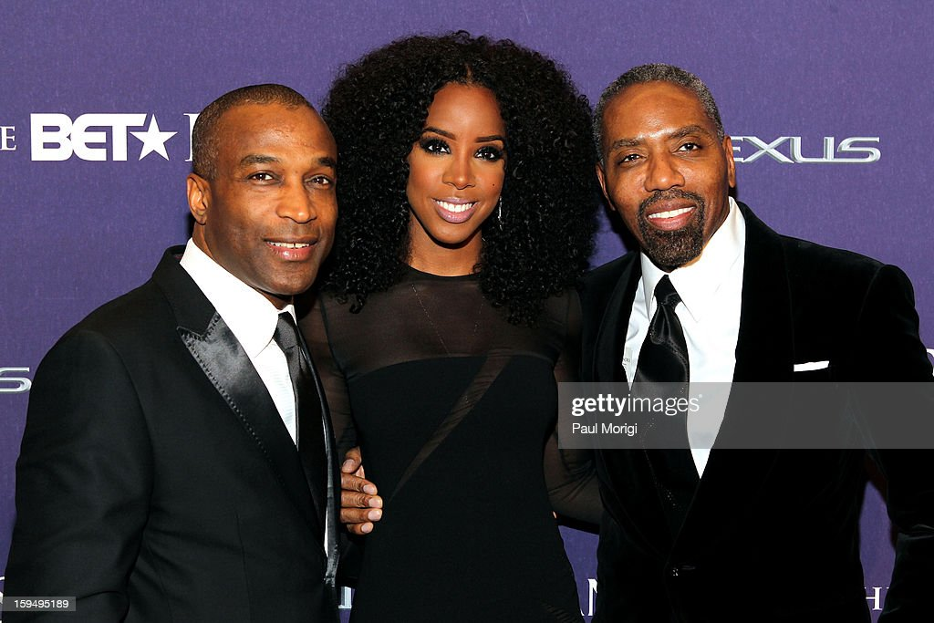 Ray Goulbourne Kelly Rowland and Louis Carr attend BET Honors 2013: Red Carpet Presented By Pantene at Warner Theatre on January 12, 2013 in Washington, DC.