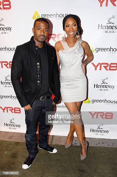 Ray J and Brandy attend Ray J's YRB Magazine Cover 30th birthday celebration at Greenhouse on January 20 2011 in New York City