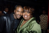 Ray J and Eunetta Boone during UPN's 'One on One' 100th Episode Party in Los Angeles California United States
