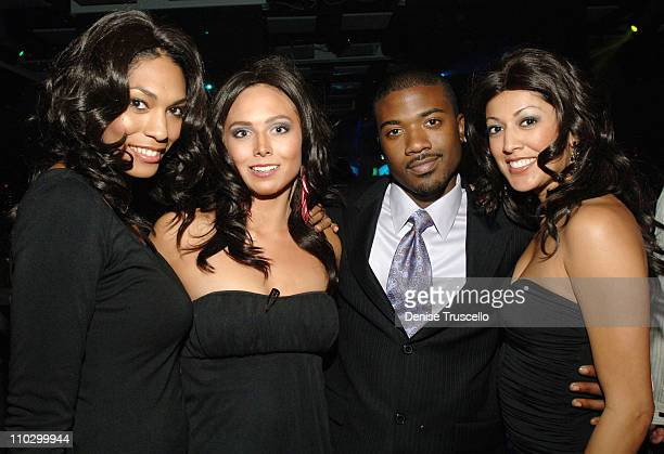 Ray J and Kim K Contestants during Ray J Adult Video Release Party at JET Nightclub at The Mirage Hotel and Casino Resort at JET Nightclub at The...