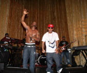 Ray J and Yung Berg perform at RB Live on April 1 2008 in New York City New York