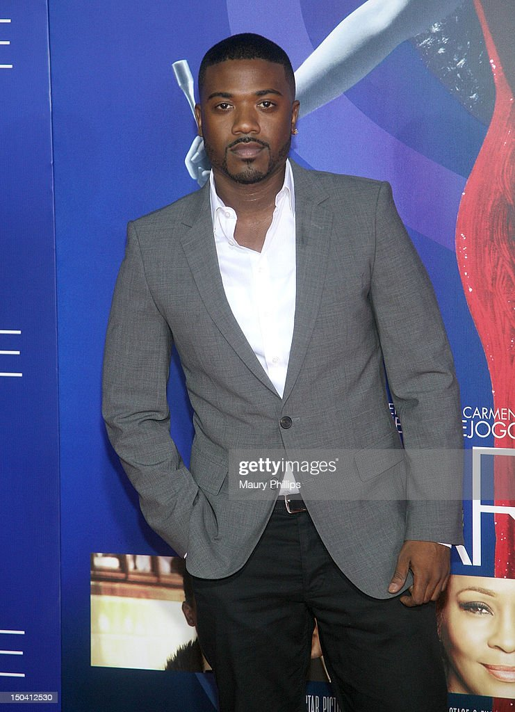 <a gi-track='captionPersonalityLinkClicked' href=/galleries/search?phrase=Ray+J&family=editorial&specificpeople=581007 ng-click='$event.stopPropagation()'>Ray J</a> arrives at the Los Angeles Premiere of 'Sparkle' at Grauman's Chinese Theatre on August 16, 2012 in Hollywood, California.