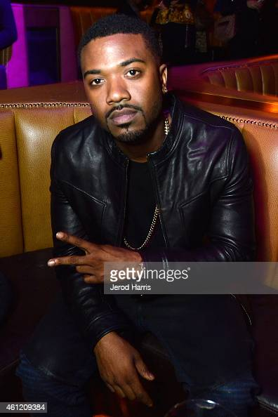 Ray J attends WE tv's joint premiere party for 'Marriage Boot Camp Reality Stars' and 'David Tutera's CELEBrations' at 1 OAK on January 8 2015 in...