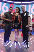 Ray J Paigion and Shorty da Prince at BET's '106 Park' at BET Studios on May 22 2013 in New York City