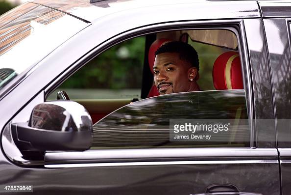 Ray J seen filming on location for 'Driven To Love 101' on the streets of Battery Park City on June 25 2015 in New York City