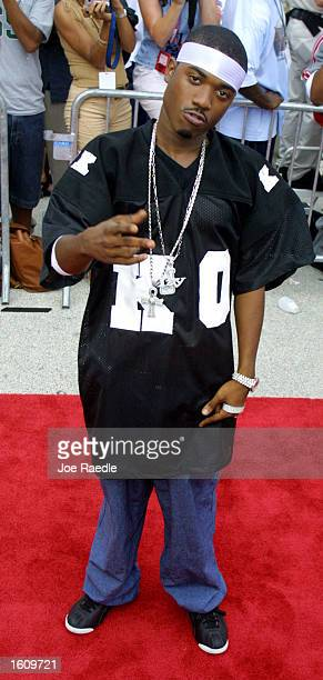 Ray Jay arrives at the Source HipHop Awards August 20 2001 in Miami Beach FL