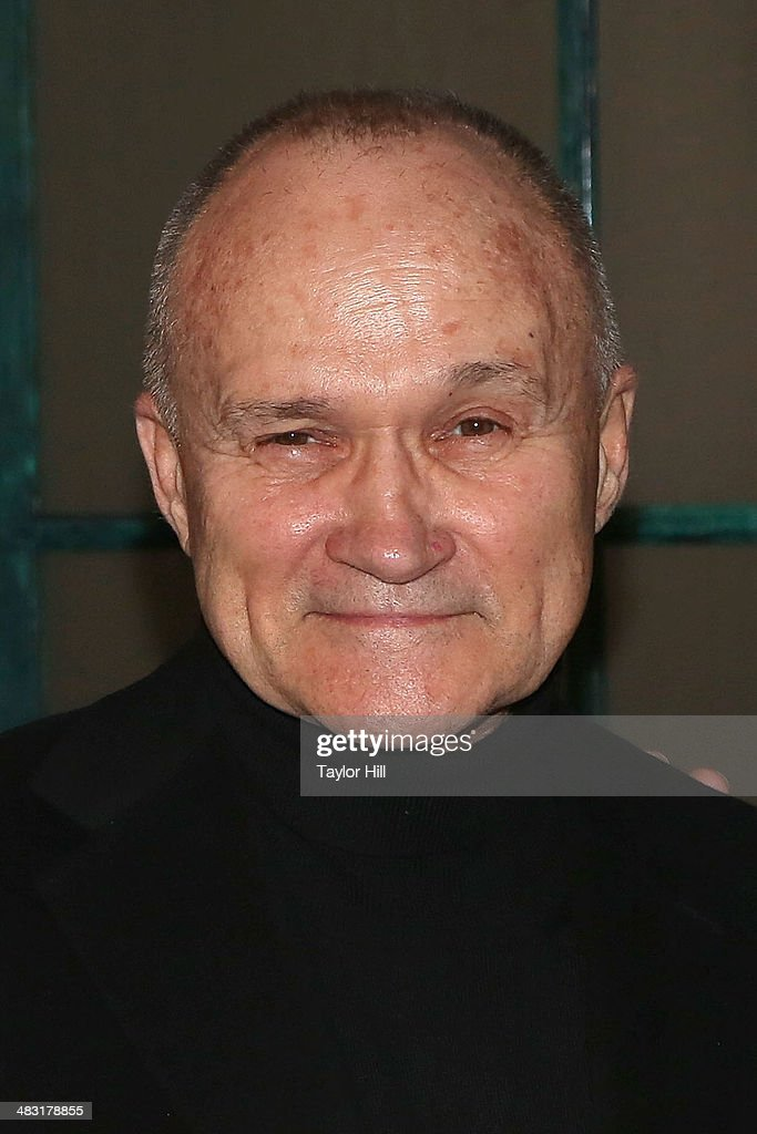 Ray Kelly attends 'Kinky Boots' one year anniversary on Broadway at The Hirshfeld Theatre on April 6, 2014 in New York City.