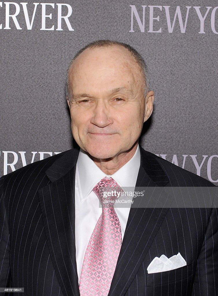 Ray Kelly attends The New York Observer Relaunch Event on April 1, 2014 in New York City.