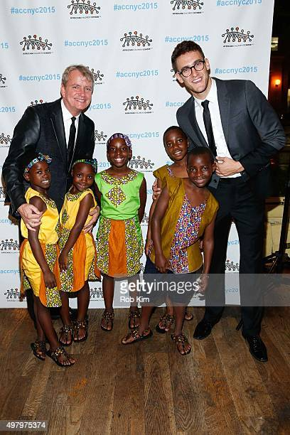Ray Kennedy and Adam Roberts attend African Children's Choir Fund Raising Gala at City Winery on November 19 2015 in New York City
