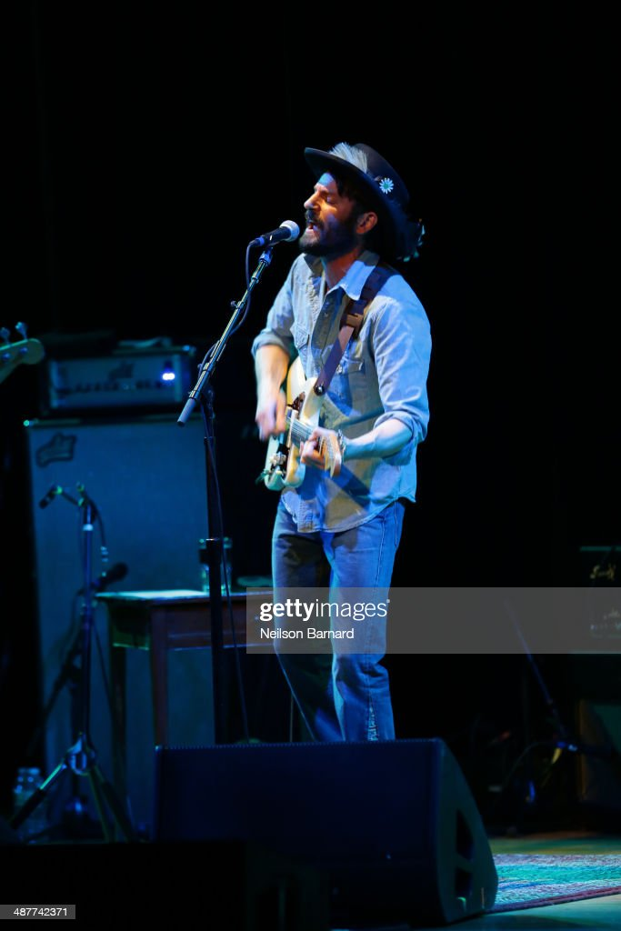 Ray LaMontagne Performs Intimate Concert Exclusively For Citi Cardmembers At Town Hall on May 1, 2014 in New York City.