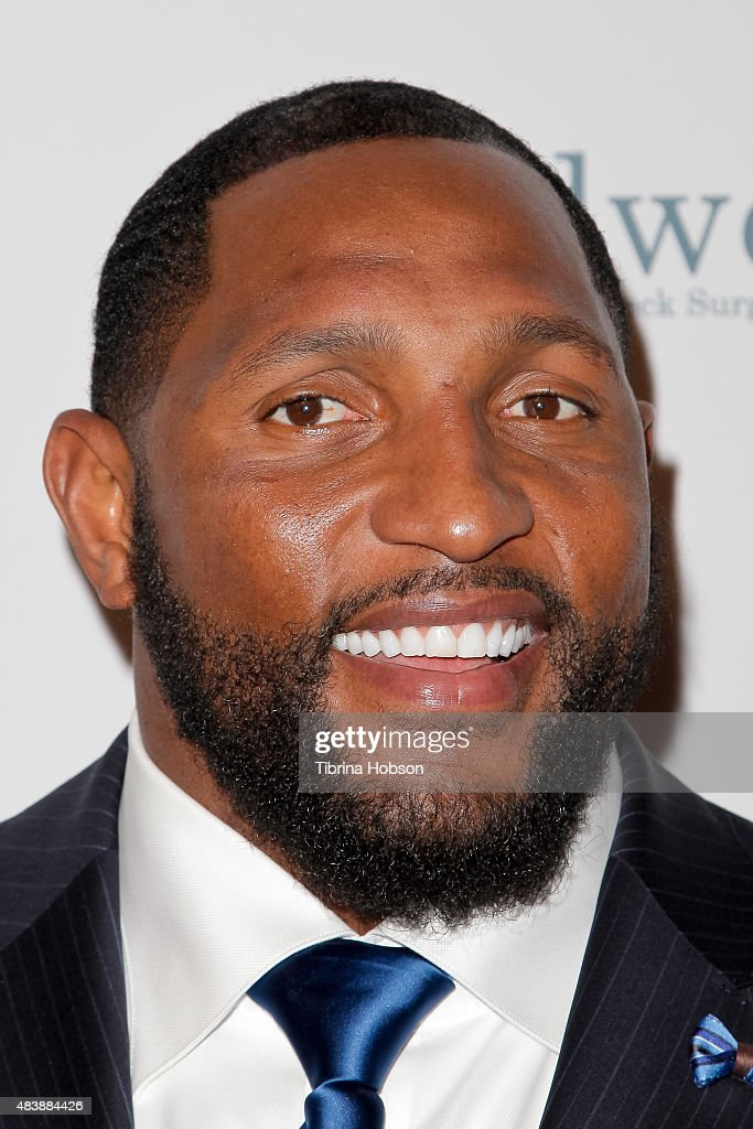 Ray Lewis attends the 15th annual Harold and Carole Pump Foundation gala at the Hyatt Regency Century Plaza on August 7, 2015 in Los Angeles, California.