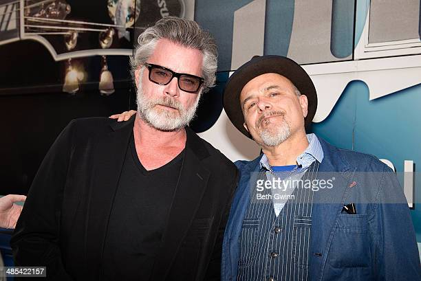 Ray Liotta and Joe Pantoliano attend day 1 of the 2014 Nashville Film Festival at Regal Green Hills on April 17 2014 in Nashville Tennessee