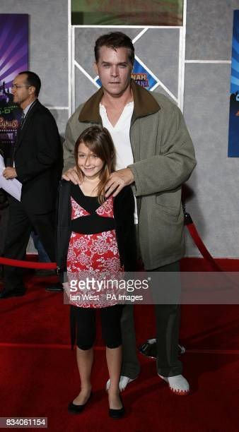 Ray Liotta arrives at the premiere for new film Hannah Montana and Miley CyrusBest of Both Worlds Concert at the El Capitan Theatre Los Angeles