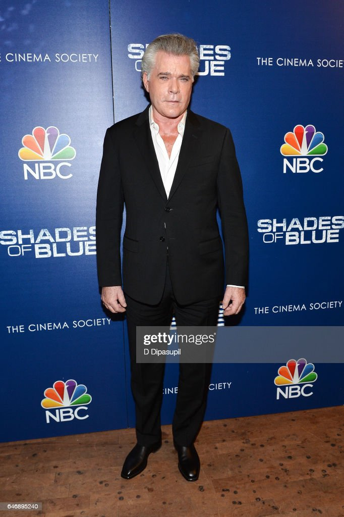 Ray Liotta attends the season two premiere of 'Shades of Blue', hosted by NBC and The Cinema Society, at The Roxy on March 1, 2017 in New York City.