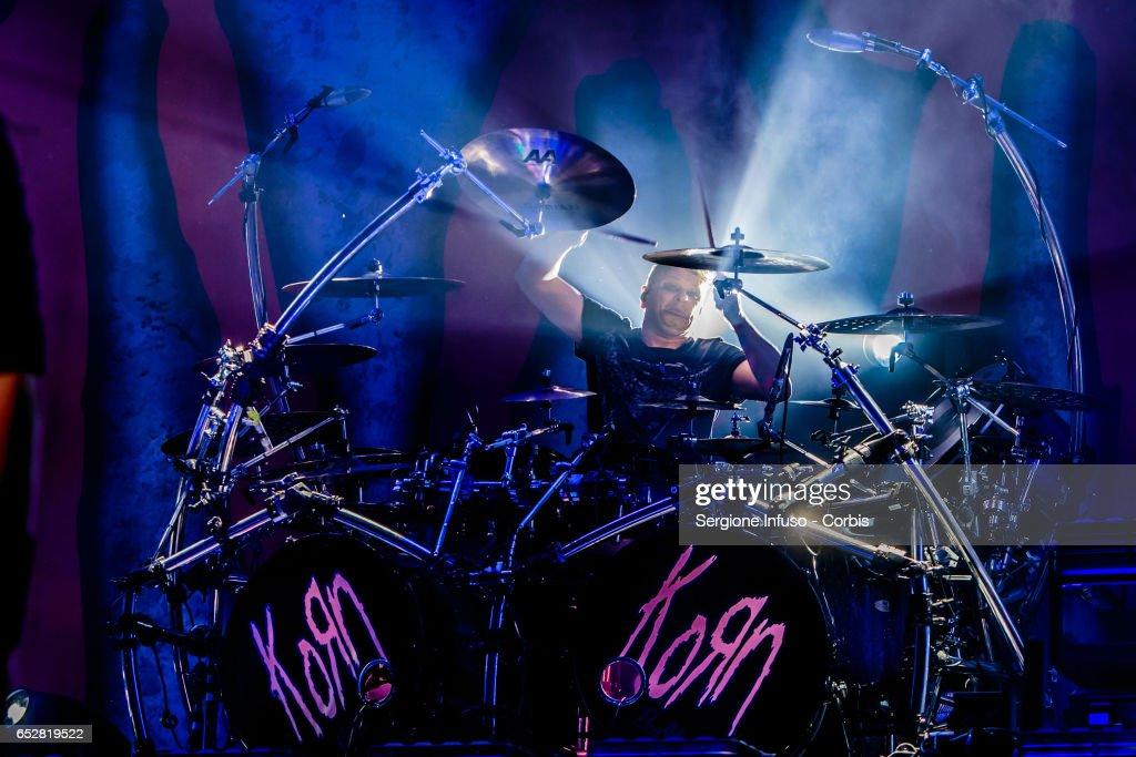 Korn Perform In Milan