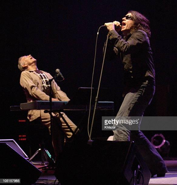 Ray Manzarek and Ian Astbury of The Doors of the 21st Century