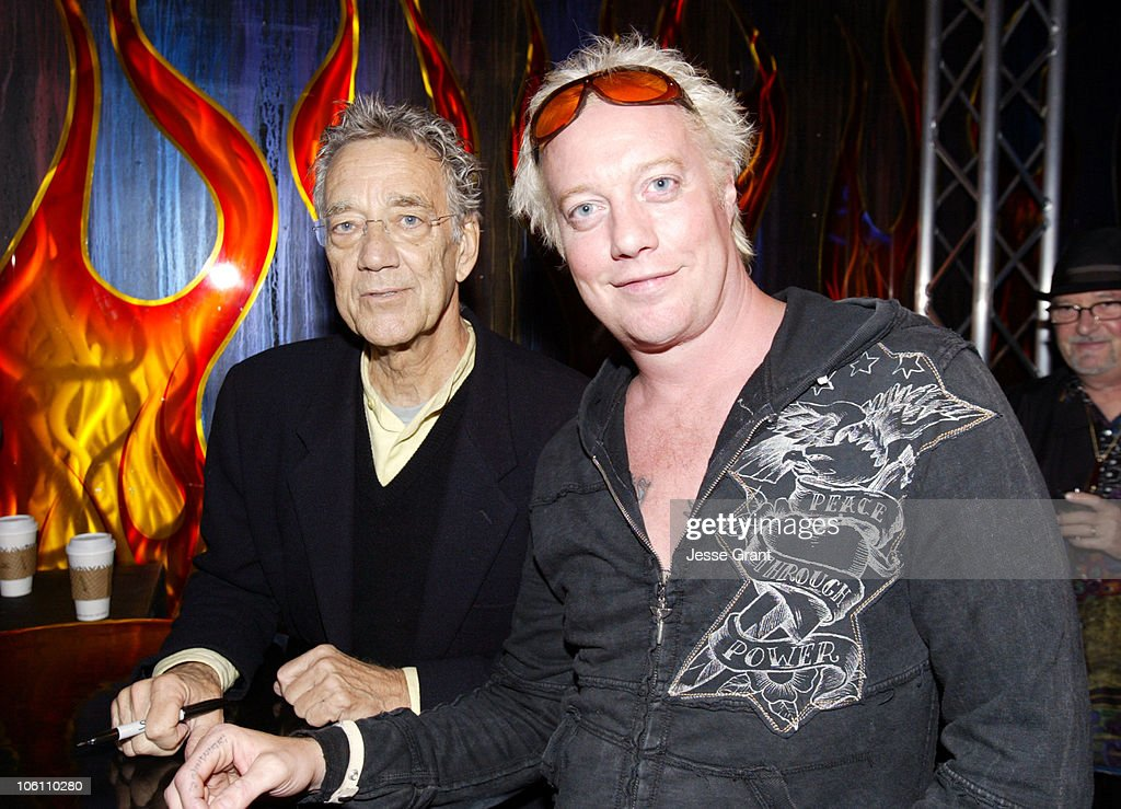 Ray Manzarek of The Doors and Jani Lane of Warrant