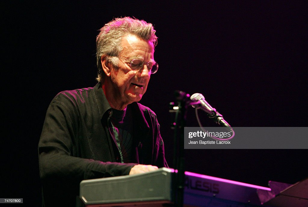 Ray Manzarek of The Doors of the 21st Century at the Palais des Congres in Paris, France.