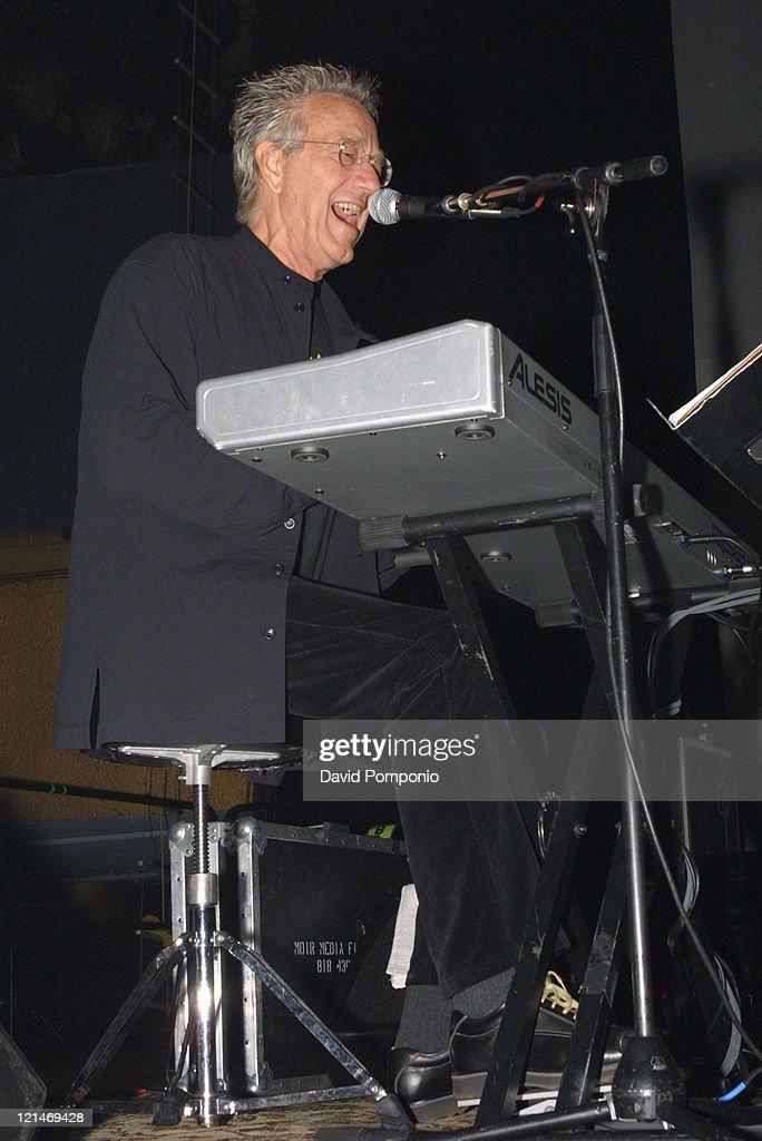 Ray Manzarek of The Doors of the 21st Century during The Doors of the 21st Century in Concert - May 5, 2004 at Roseland Ballroom in New York City, New York, United States.