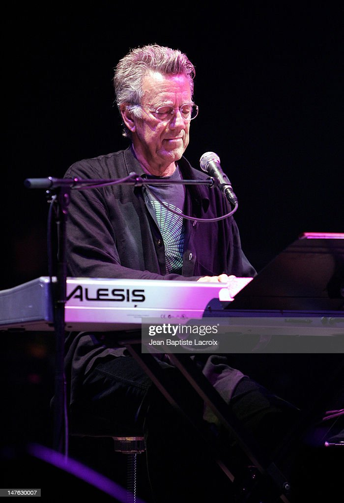 Ray Manzarek of The Doors of the 21st Century during The Doors of the 21st Century in Concert - July 15, 2004 at Palais des Congres in Paris, France.