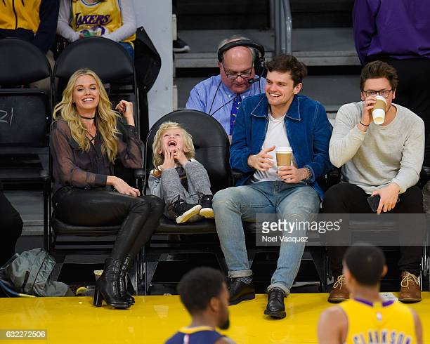 Ray Nicholson attends a basketball game between the Indiana Pacers and the Los Angeles Lakers at Staples Center on January 20 2017 in Los Angeles...